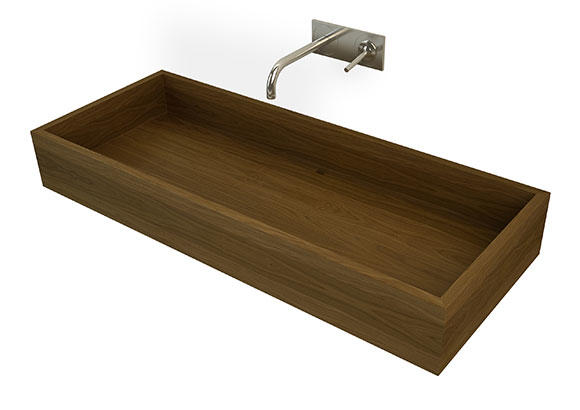 Image of Kapai wooden washbasin