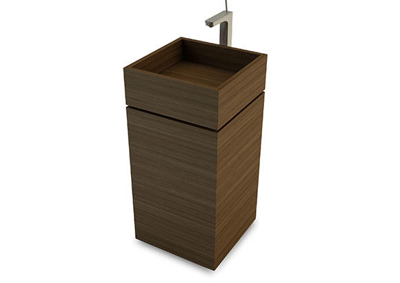 Image of Mabio wooden washbasin