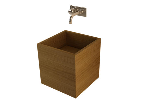Image of Pocco wooden washbasin