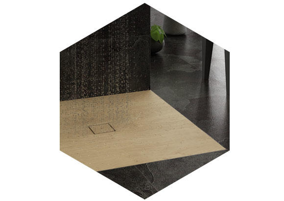 Picture of Shower-trays wooden surfaces